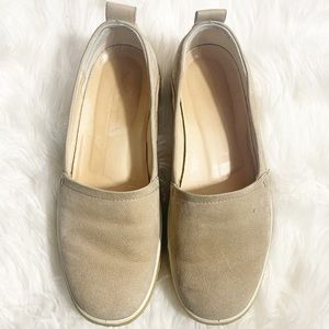 ECCO Sage Crepetray Slip on Loafer Flat Size 7